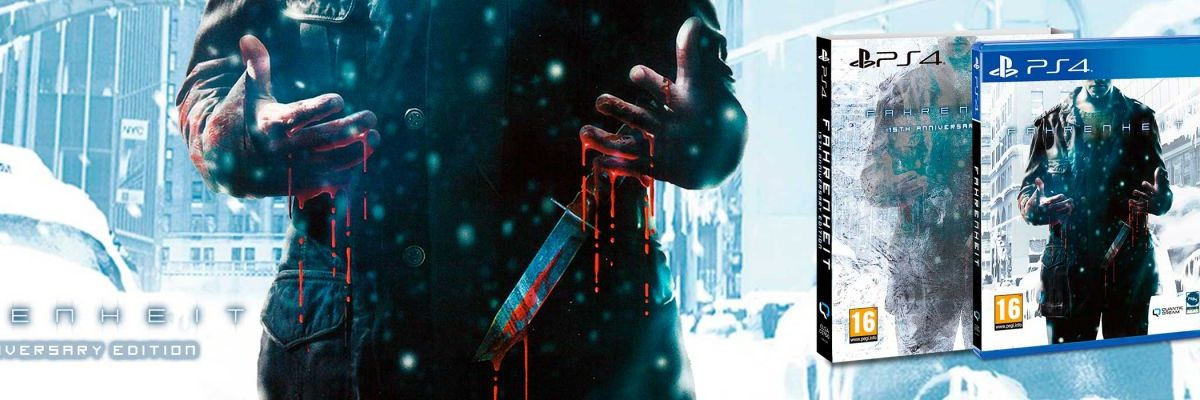 Fahrenheit 15TH Anniversary Edition retrasa su fecha de lanzamiento