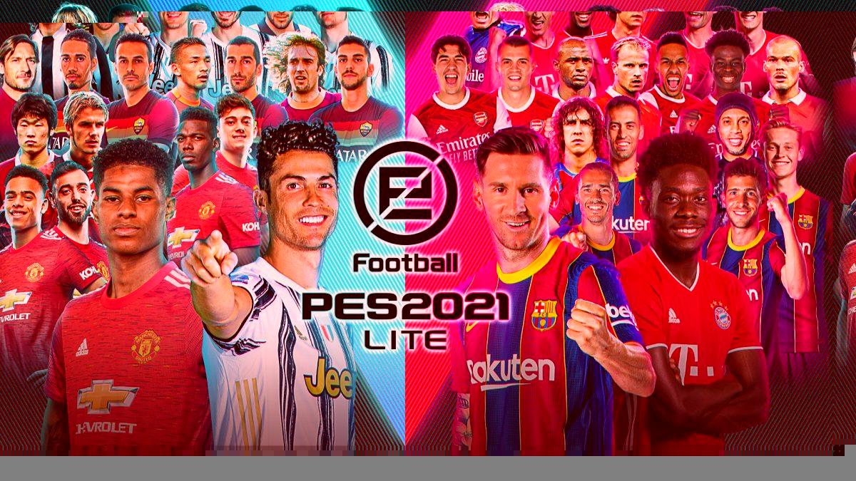 Ya disponible el modo free to play para descarga eFootball PES 2021 LITE