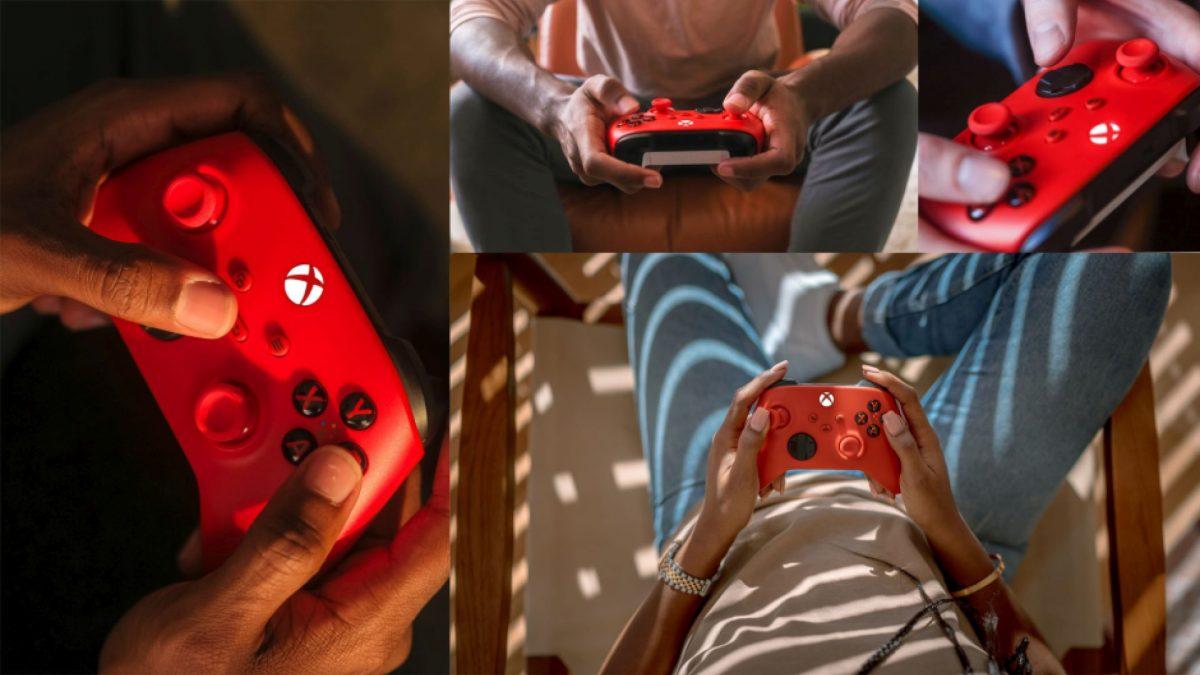 Microsoft presenta el nuevo Mando Inalámbrico Xbox: Pulse Red