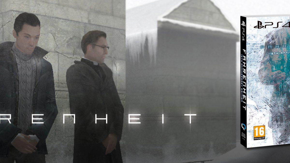 Terminó la espera, Fahrenheit 15TH Anniversary Edition llega este mes