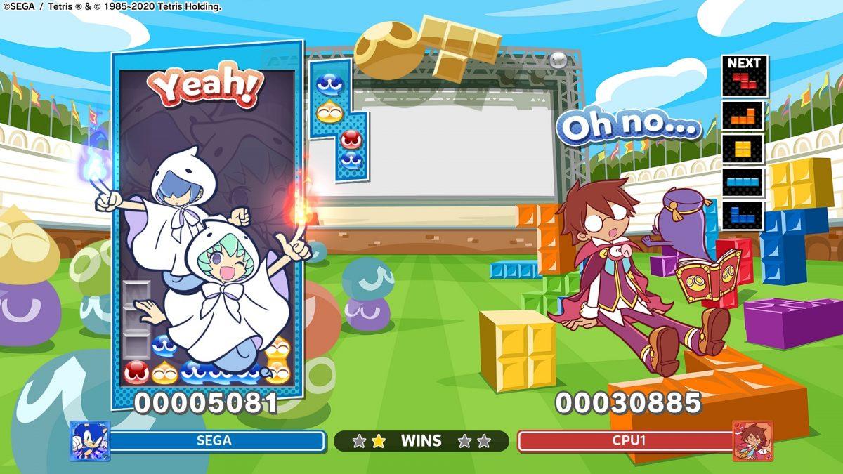 Celebra el Puyo Day con la nueva actualización de Puyo Puyo Tetris 2