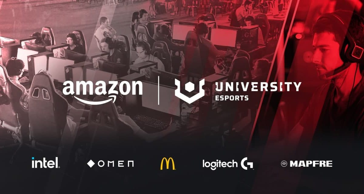 Amazon University Esports se consolida como la Liga Universitaria más importante