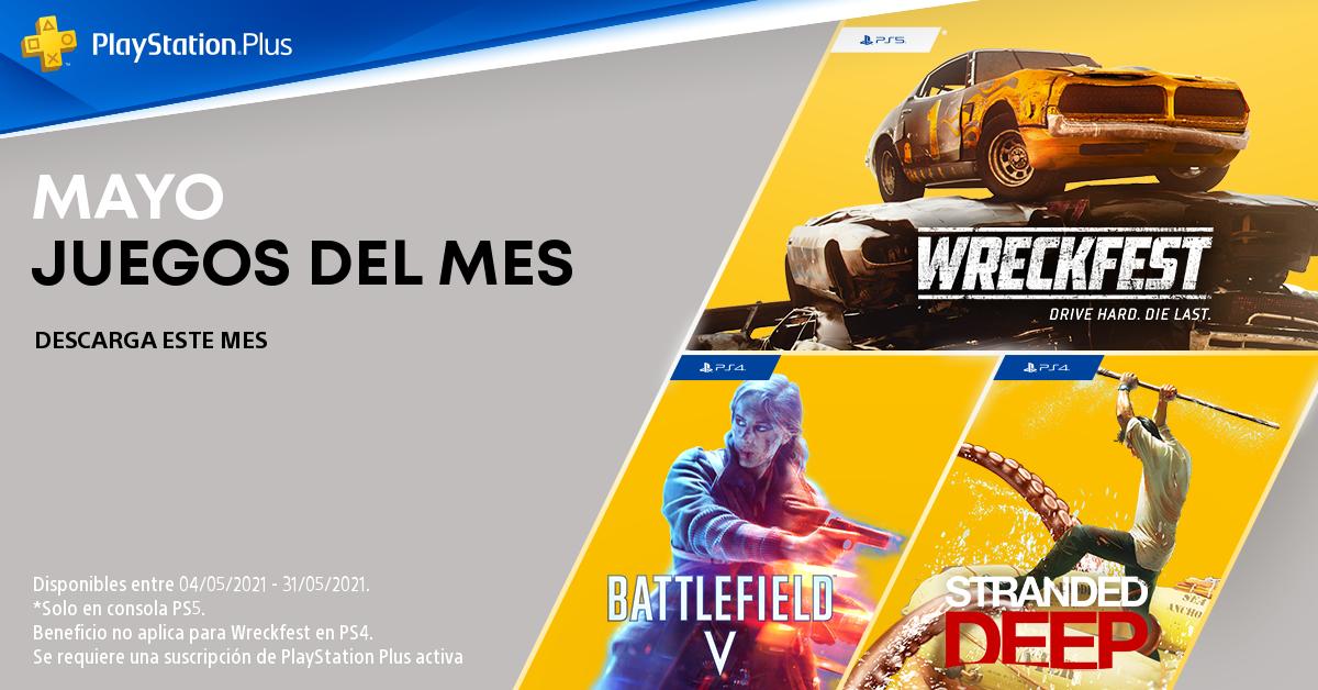Battlefield V yStranded Deepllegan en mayo para PS4