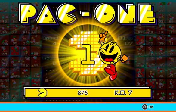 PAC-MAN 99 ya está disponible para Nintendo Switch