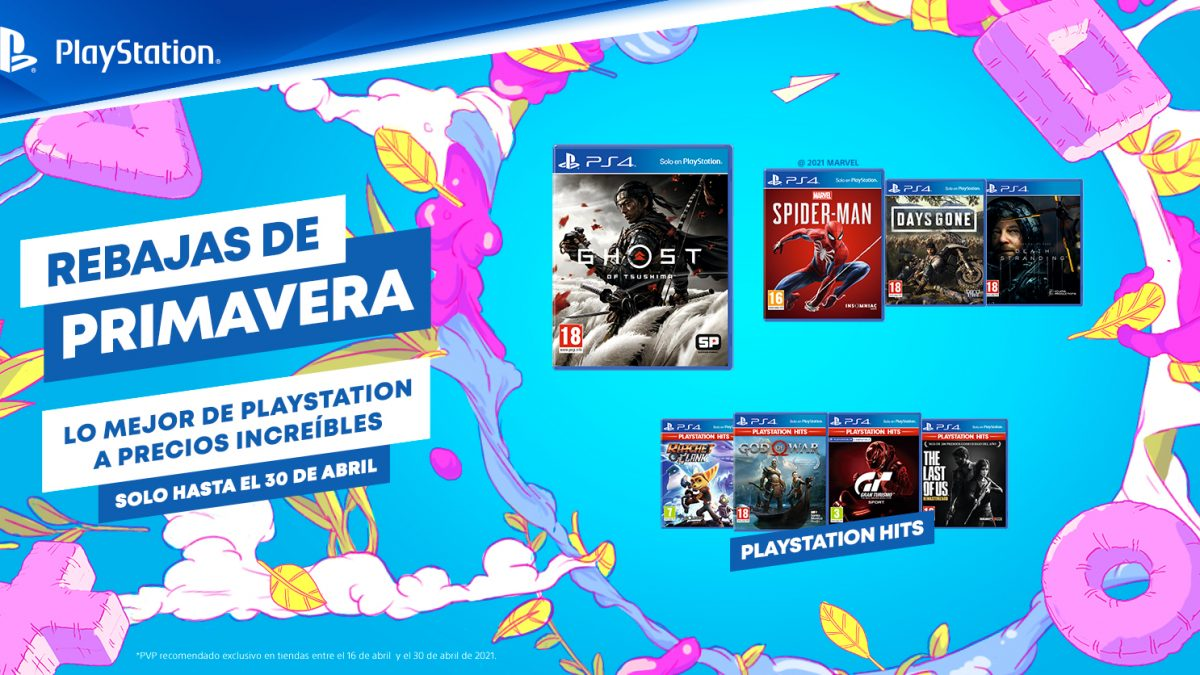 Las Rebajas de Primavera de PlayStation® llegan a los puntos de venta