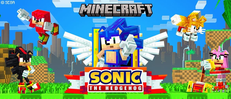 El DLC de Sonic the Hedgehog ya está disponible en Minecraft