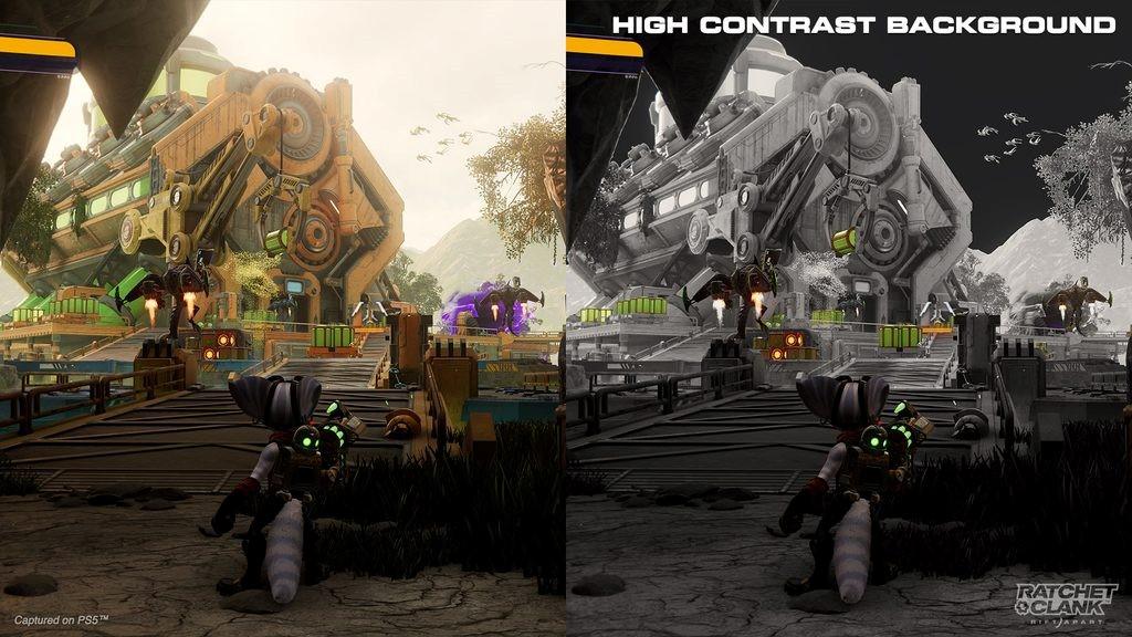 Ratchet & Clank presenta sus múltiples funciones de accesibilidad