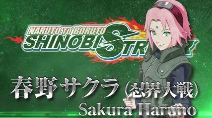 Sakura Haruno, el primer personaje del cuarto pase de Naruto to Boruto Shinobi