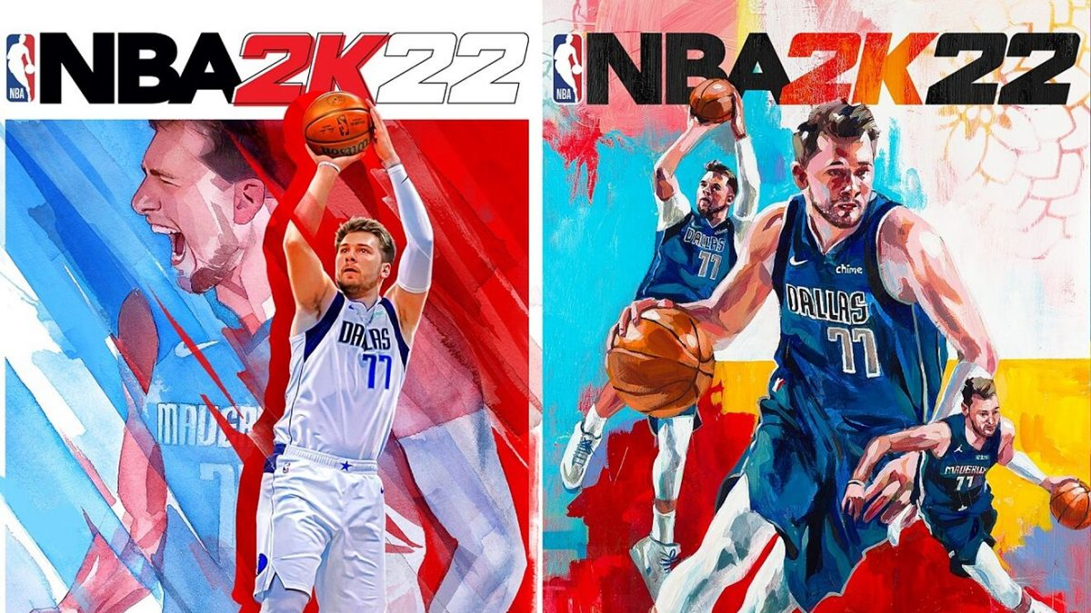 Luka Doncic, portada del videojuego NBA 2K22
