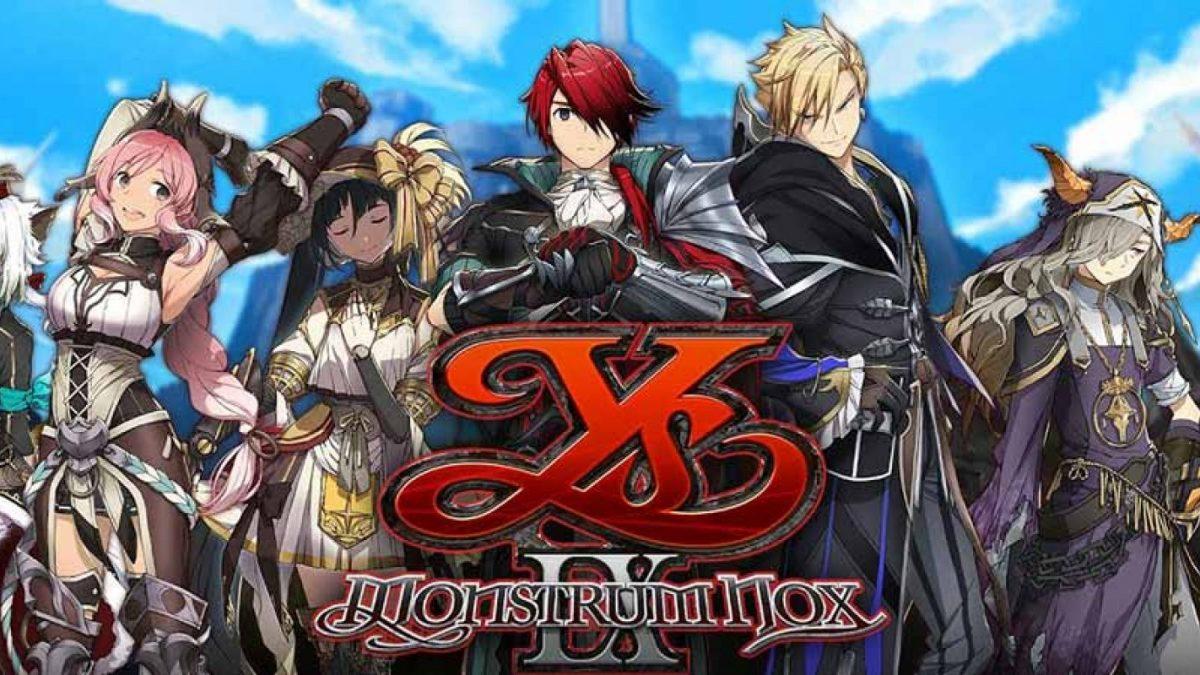 Ys IX: Monstrum Nox llega Nintendo Switch y PC