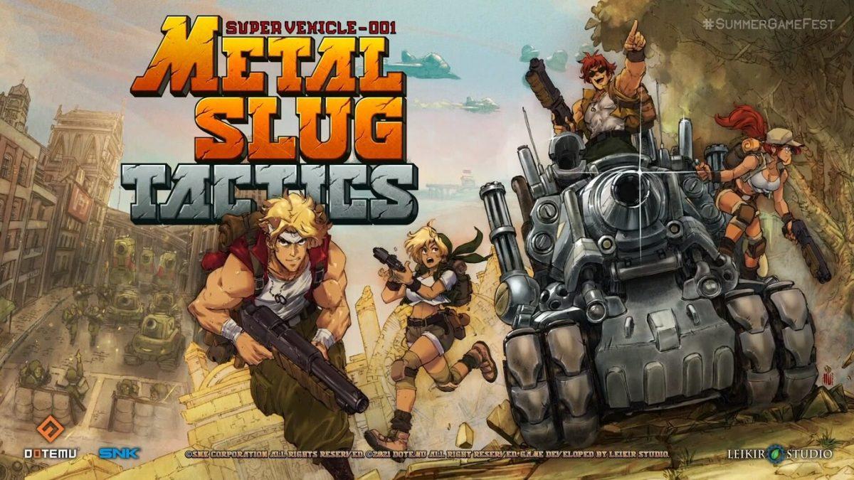 El mítico «Metal Slug» regresará en 2022 para Nintendo Switch y PC
