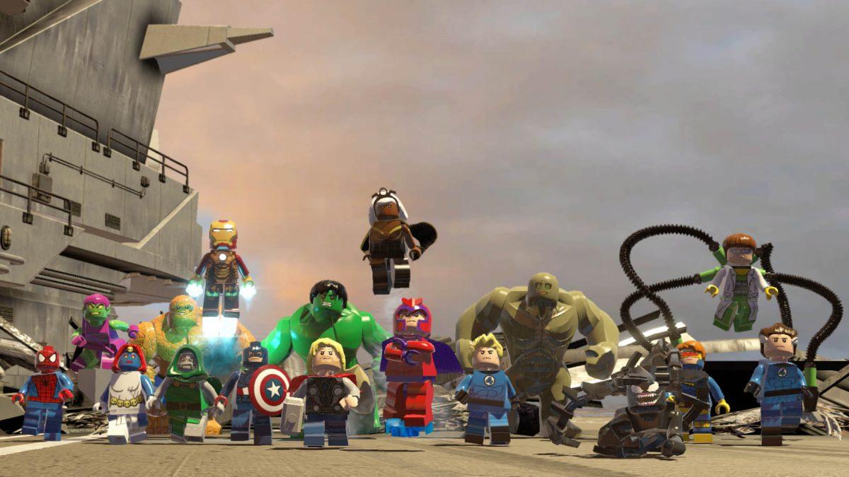 LEGO Marvel Super Heroes saldrá a la venta para Nintendo Switch en otoño