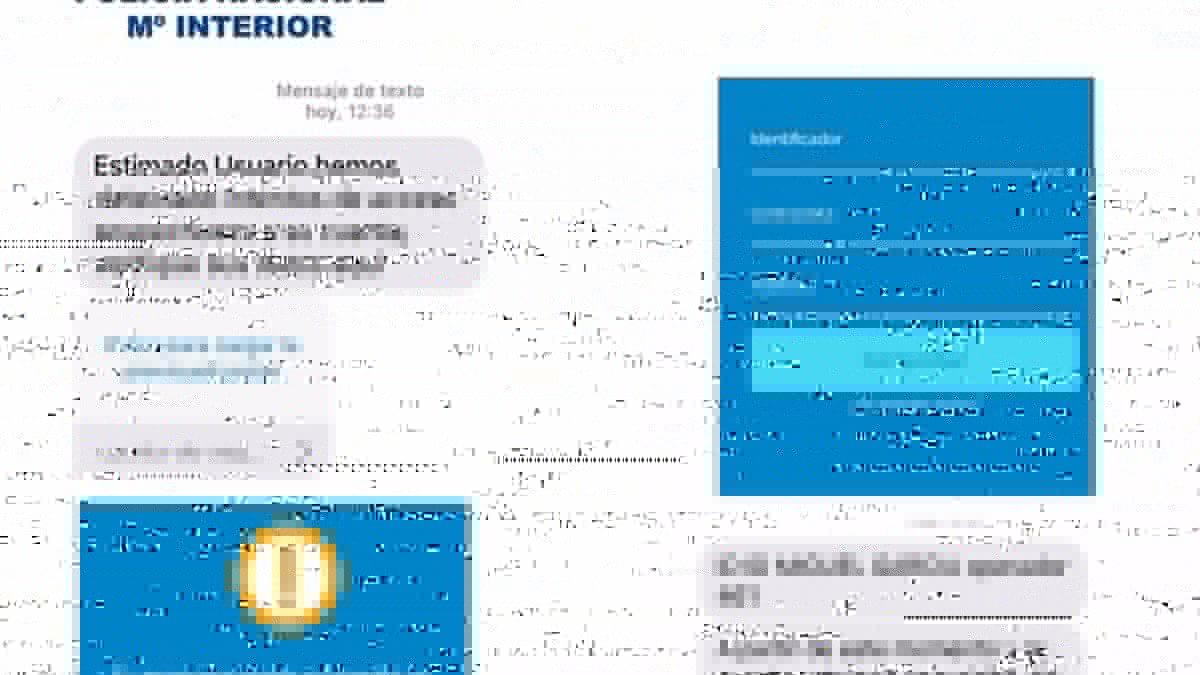 La Policía Nacional alerta de una nueva modalidad de fraude bancario mediante SMS y llamadas telefónicas