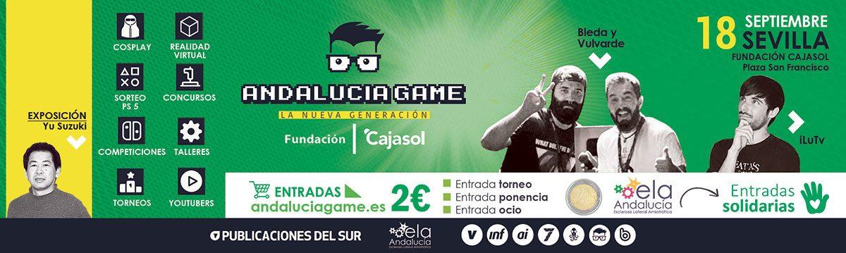 Andalucía Game 2021 apuesta fuerte con iLuTV y El Bleda y Vulvarde, reconocidos youtubers