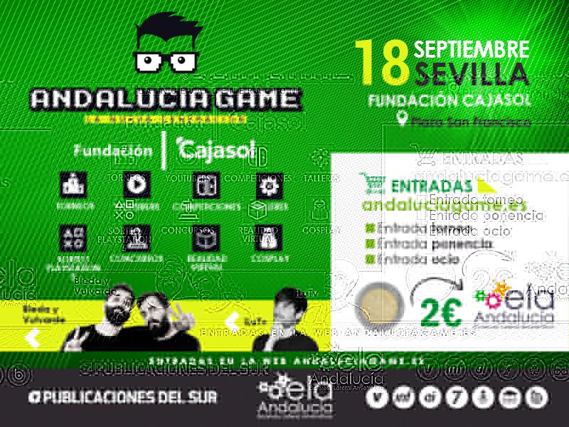 iLuTV y El Bleda y Vulvarde, en Andalucía Game 2021