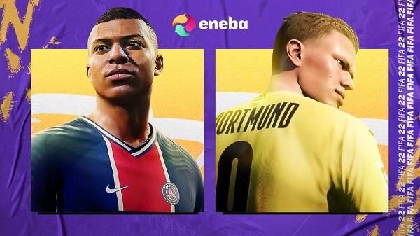 ¡El nuevo FIFA 22 ya está aquí! Consíguelo más barato en Eneba