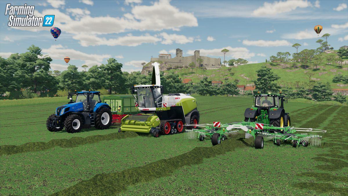 Farming Simulator 22 añade multijugador multiplataforma