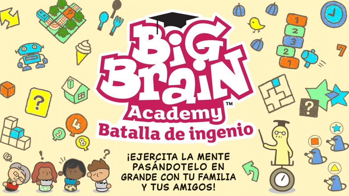 Pon tu ingenio a trabajar en Big Brain Academy: Batalla de ingenio en Switch