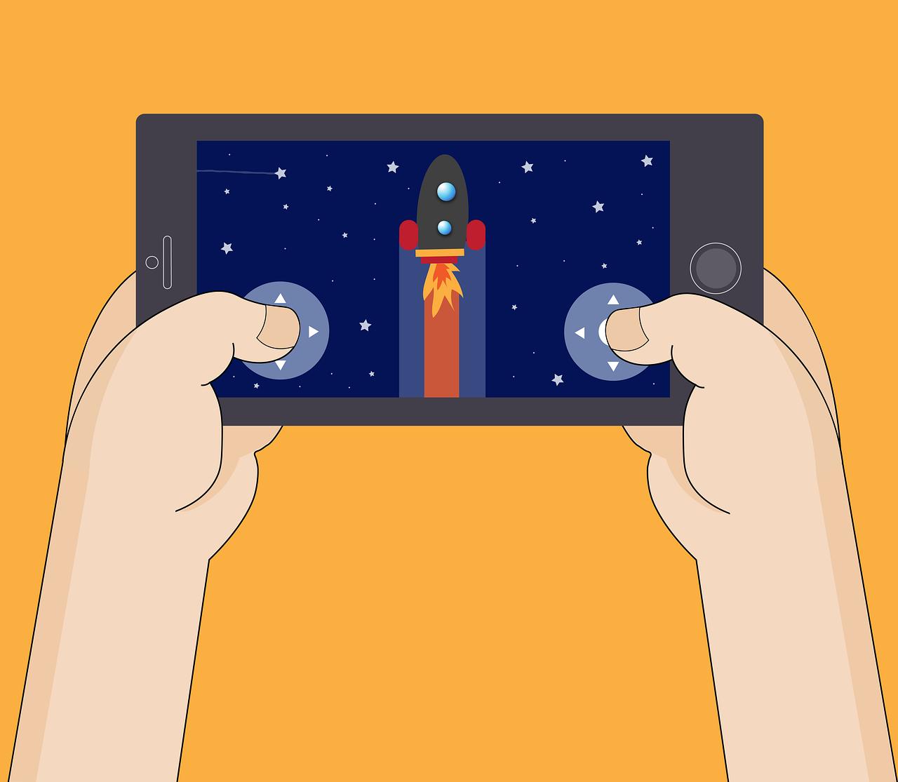 Crecimiento de navegación y juegos desde el móvil