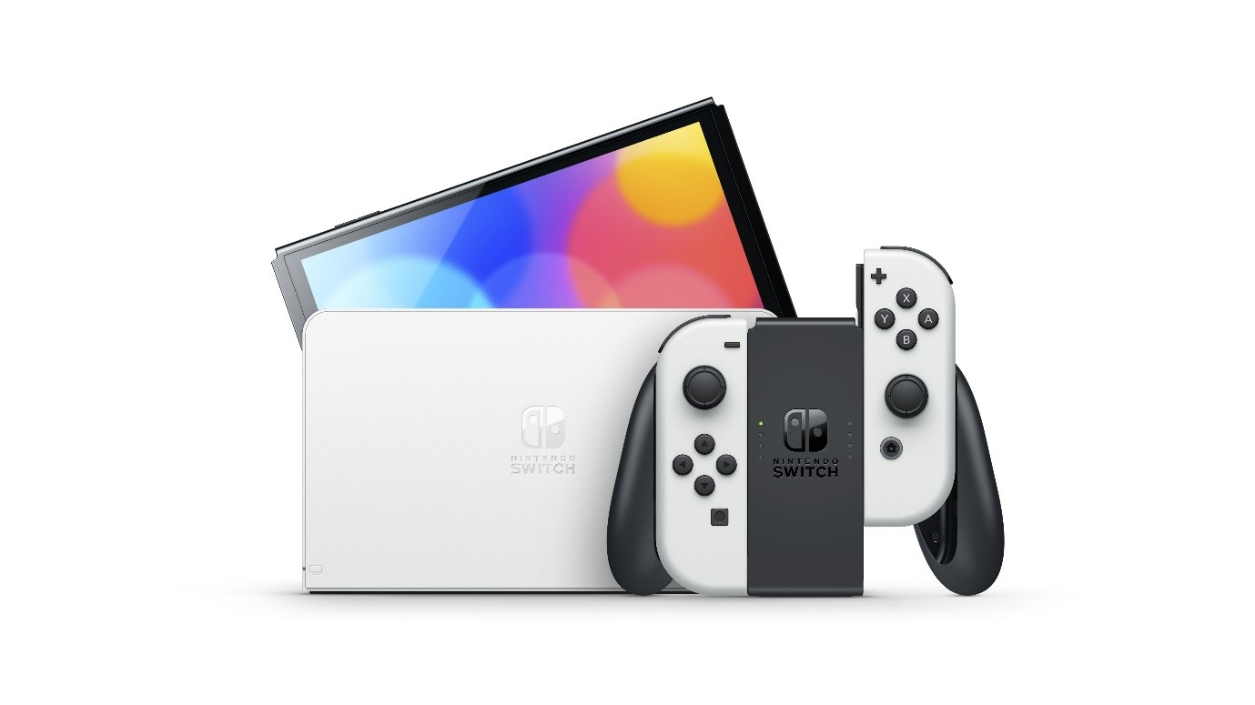 Luce tus colores con Nintendo Switch Oled